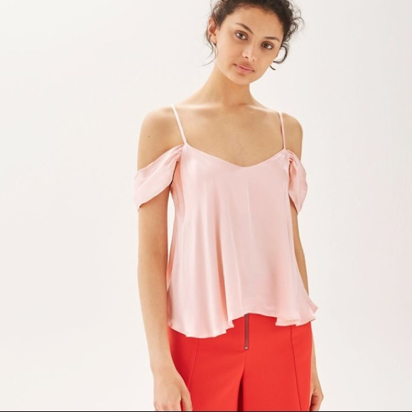 8e2ee4455d Topshop Tops | Nwt Top Blush Pink Blouse Size 6 | Poshmark